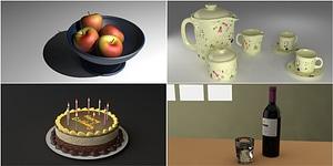 Food modelo 3D