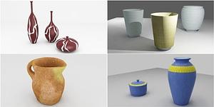 Pottery 3D 모델