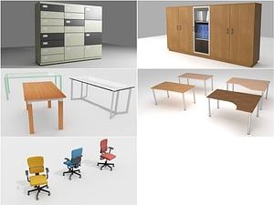 Office Furniture modèle 3D
