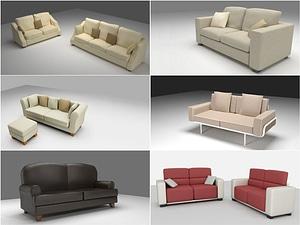 Sofa Set 3D-malli