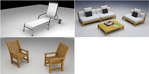 Outdoor Furniture modèle 3D
