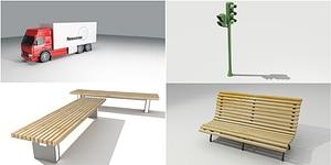 Street Set 3D Model