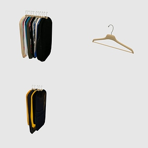 Set of Clothes 3D Model