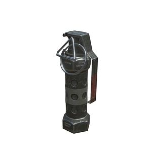 M84 Grenade 3D Model