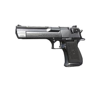 Eagle Handgun 3D Model