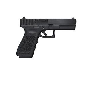 Glock Handgun 3D Model
