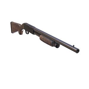Ithaca Rifle 3D Model