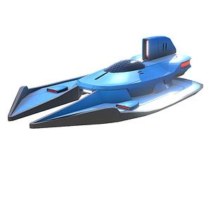 Nave espacial Escorpio modelo 3D