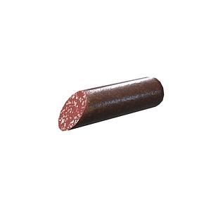 Salami Sausage 3D Model