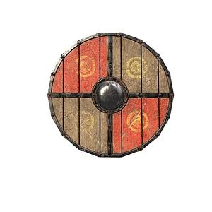 Viking Shields 3D Model