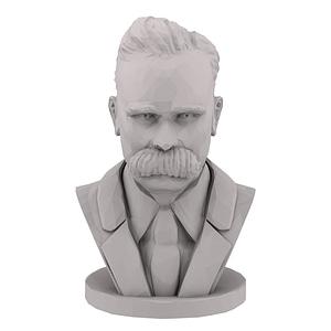 Nietzsche Bust 3D Model