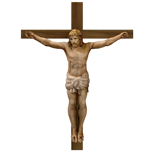 耶稣在十字架上3D模型