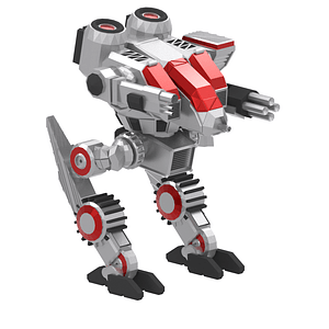 Mech Fighter 3D Model