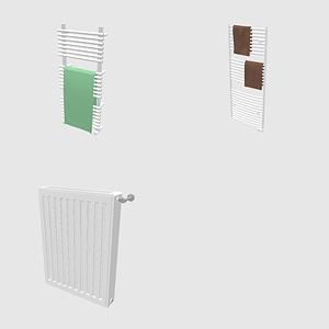 Set of Radiators 3D-модель