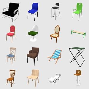 Set of Chairs modèle 3D