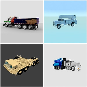 Industrial Trucks modelo 3D