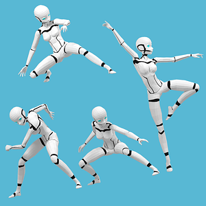 Android 3D Model
