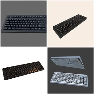 Keyboards 3D Model