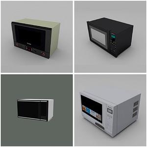 Microwaves modelo 3D
