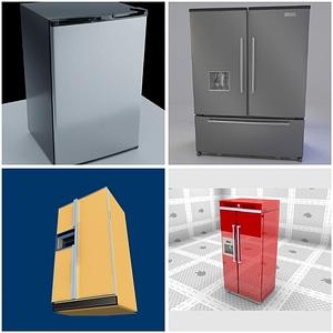 Refrigerators modelo 3D