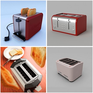 Toasters 3D Model