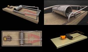 Mousetrap 3D модель