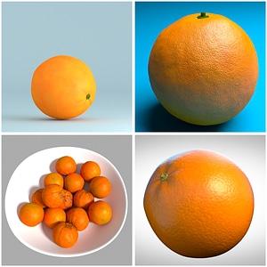 Naranjas modelo 3D
