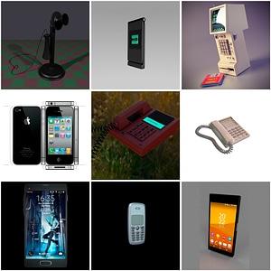 Phones 3D Model