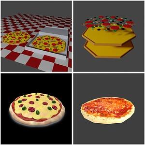 Pizza 3D-model