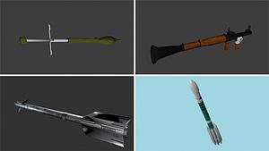 Rockets 3D Model