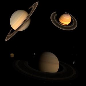 Saturn Set 3D Model