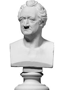 Bust of Johann Wolfgang von Goethe 3D Model