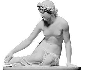 La Nymphe Salmacis 3D Model