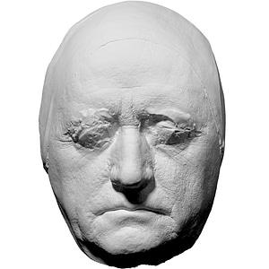 Life mask of Johann Wolfgang von Goethe 3D Model