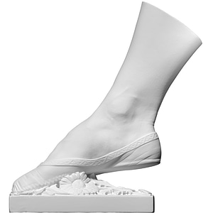 Right Foot of the Ballet Dancer 3D Model