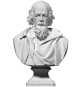 Tennyson Bust 3D Model