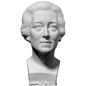 Woman's Bust 3D Model