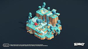 Nature Kit 1 3D-model