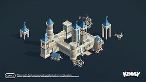 Castle Kit 3D-model