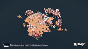 Space Kit 3D-model