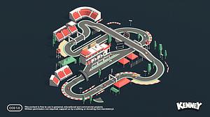 Racing Kit 3D-model