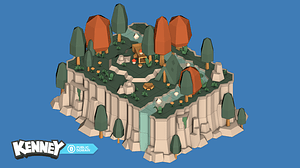 Nature Kit 3 3D-model