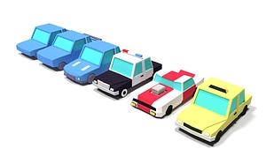 Autos 3D-Modell