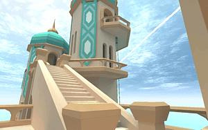 Modular Temple Pack 3D Model