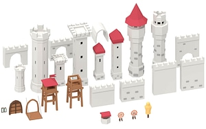 Castle Pack 3D Model