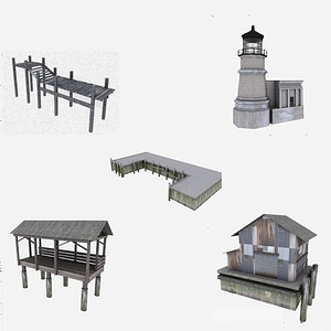 Harbor Pack 3D Model