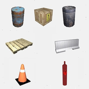 Industrial Pack 3D Model