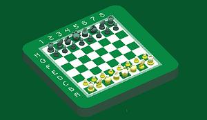 Schach 3D-Modell