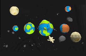 Planeten 3D-Modell