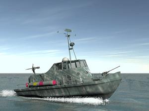 Patrol Torpedo Boat 3D Model